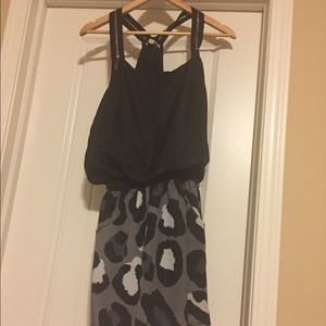 Dresses & Skirts - Cute dress with animal print and zippers
